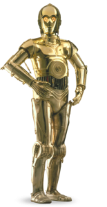 Star Wars droid C-3P0